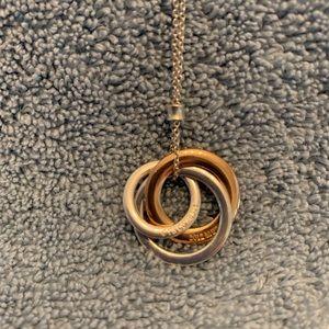 Tiffany & Co Rubedo Interlocking Circle Necklace